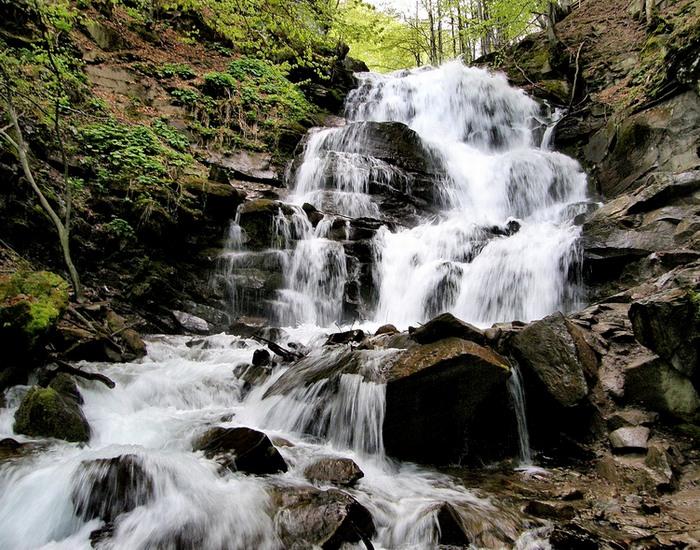 Kárpátaljai vízesés: Sipot